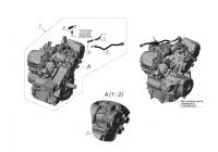 Двигатель ODES V1000 135316